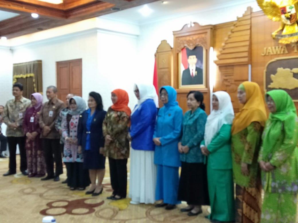Pertemuan PWA Jawa Timur dengan Gubernur Jawa Timur